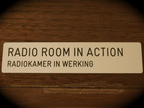 Radioroom in action